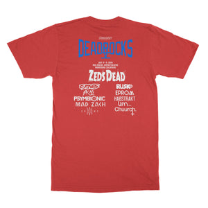 ZD - Deadrocks V - Poster Tee - Red