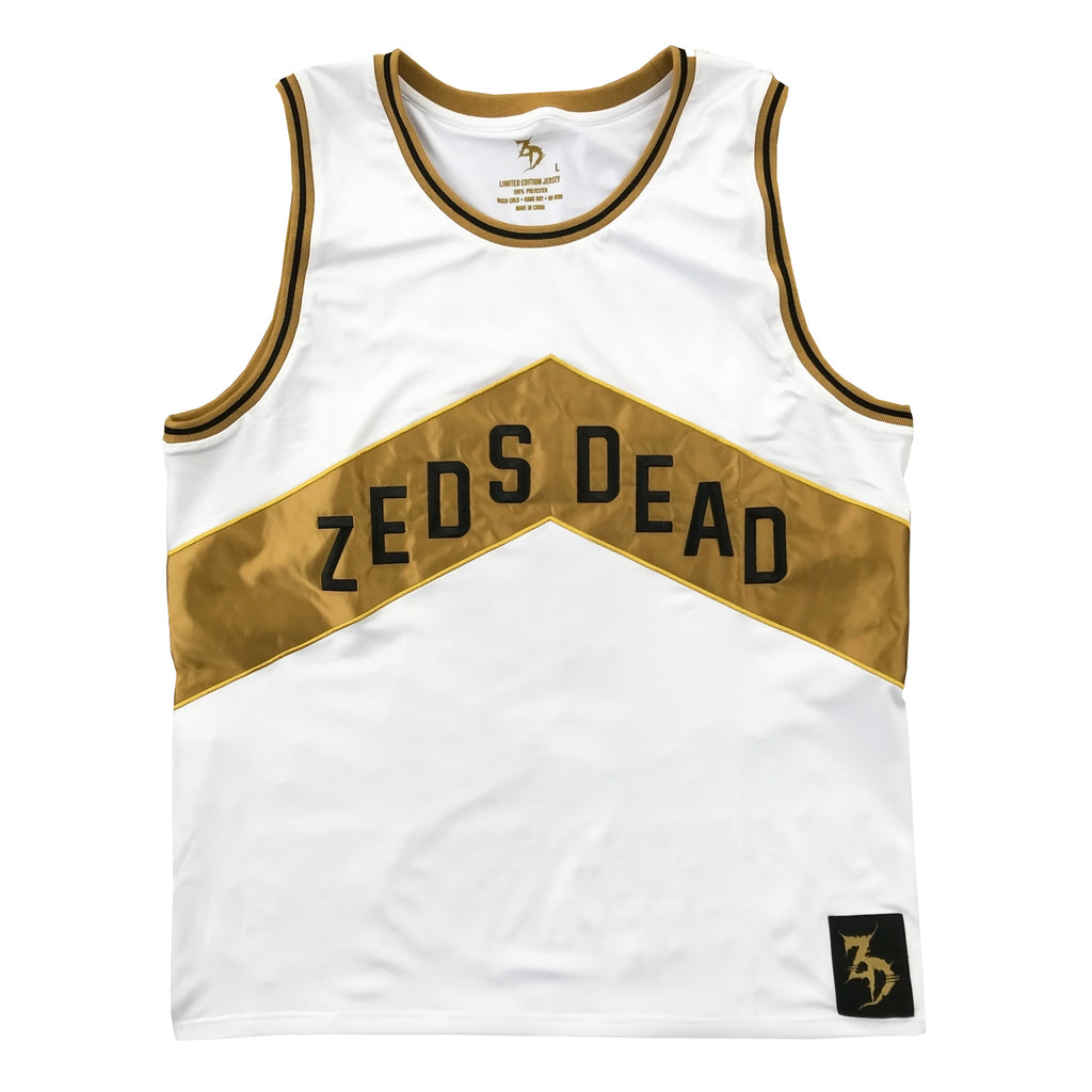ZD - North - Limited Edition Basketball Jersey - White
