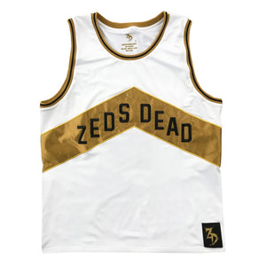 PRE ORDER ZD - North - Limited Edition Basketball Jersey - White