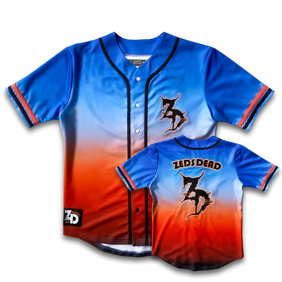 PRE ORDER - Zeds Dead - Happy Hour - Baseball Jersey