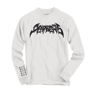 Deadbeats - Metal  - White Long Sleeve