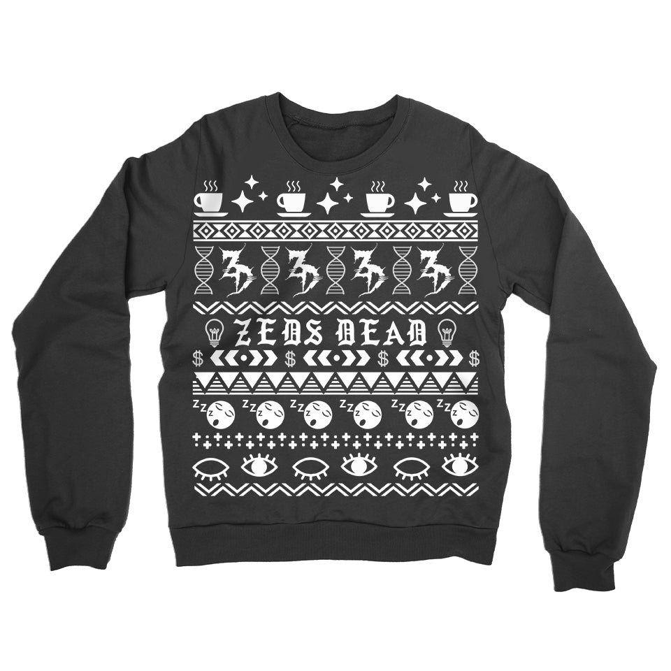 ZD -2018 Holiday Jumper- Black
