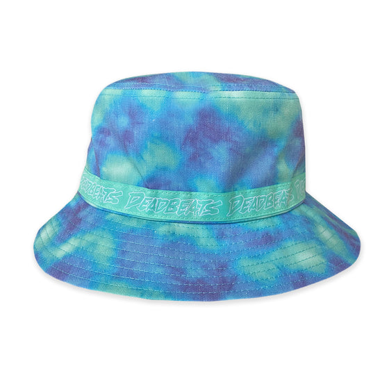 LIMITED EDITION Deadbeats - Seafoam Purple Tie Dye Bucket Hat