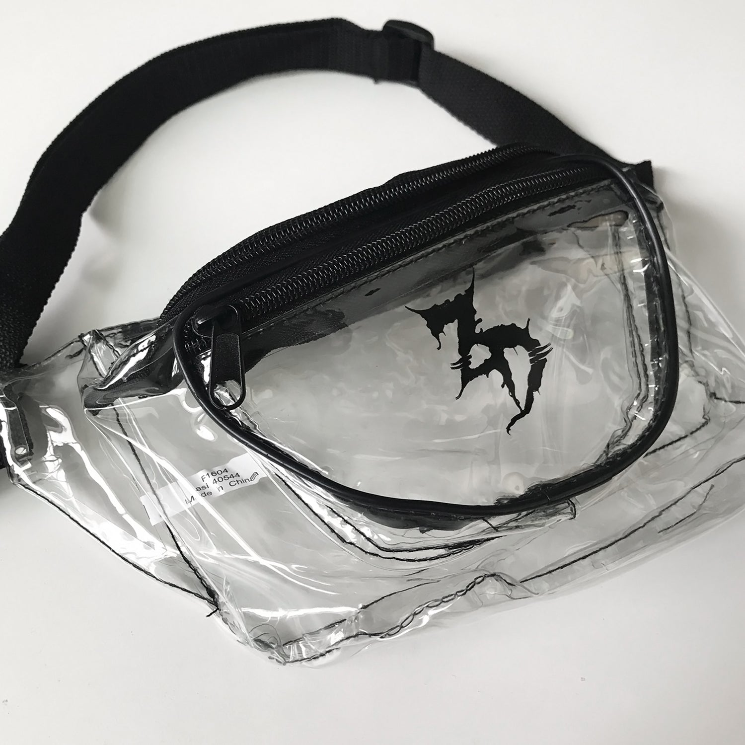 ZD - Logo - Clear Fanny Pack