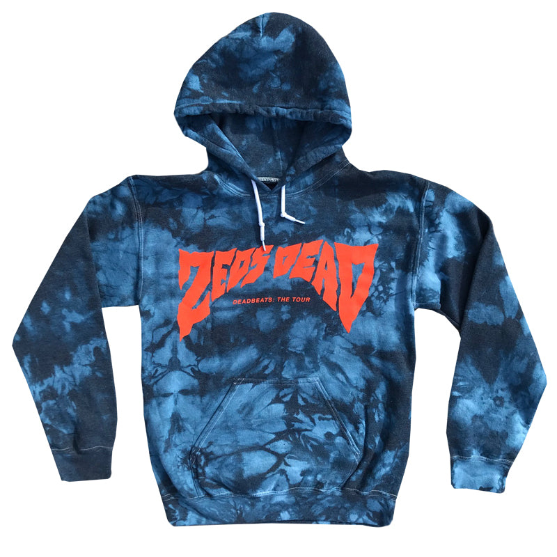 ZD - DEADBEATS: THE TOUR - Tie Dye Hoodie