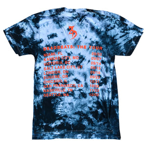 ZD - DEADBEATS: THE TOUR - Tie Dye Tee