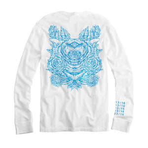 Deadbeats - Abstract  - White Long Sleeve