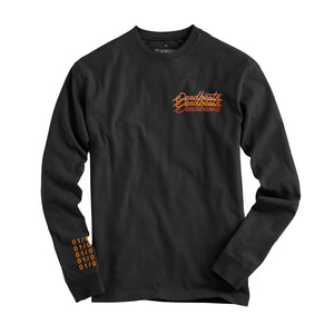 Deadbeats - Abstract  - Black Long Sleeve