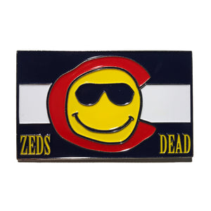 ZD - DEADROCKS VI - Flag - Lapel Pin
