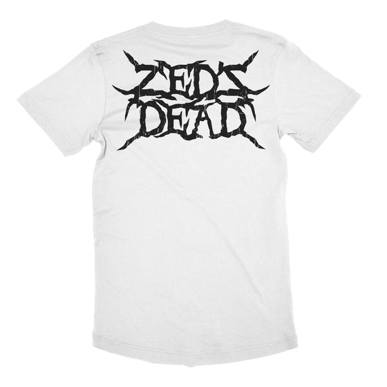 ZD - Devil Tarot - White Long Tee