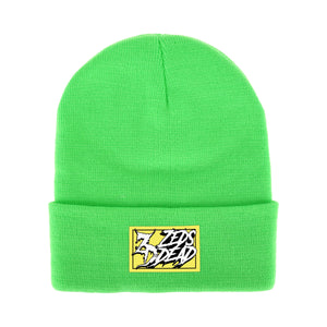 ZD - Wreckless - Neon Green Beanie