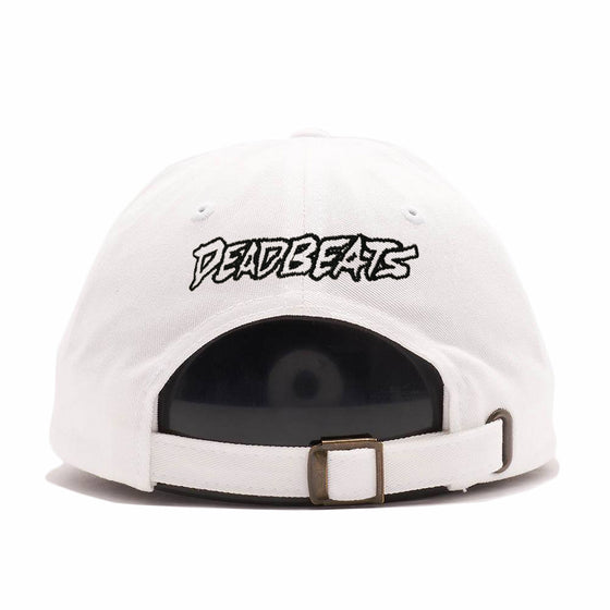 ZD - DEADBEATS - Rose - White Dad Hat