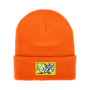 ZD - Wreckless - Safety Orange Beanie