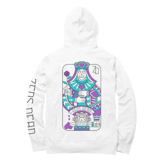 PRE ORDER - LIMITED EDITION - Zeds Dead - Heartz - Pullover Hoodie - White
