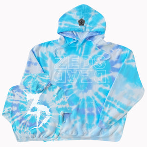 PRE ORDER - LIMITED EDITION - ZD - Level Up V2 - Wildflower Tie Dye Hoodie