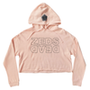 Zeds Dead - Level Up - Ladies Blush Crop Hoodie