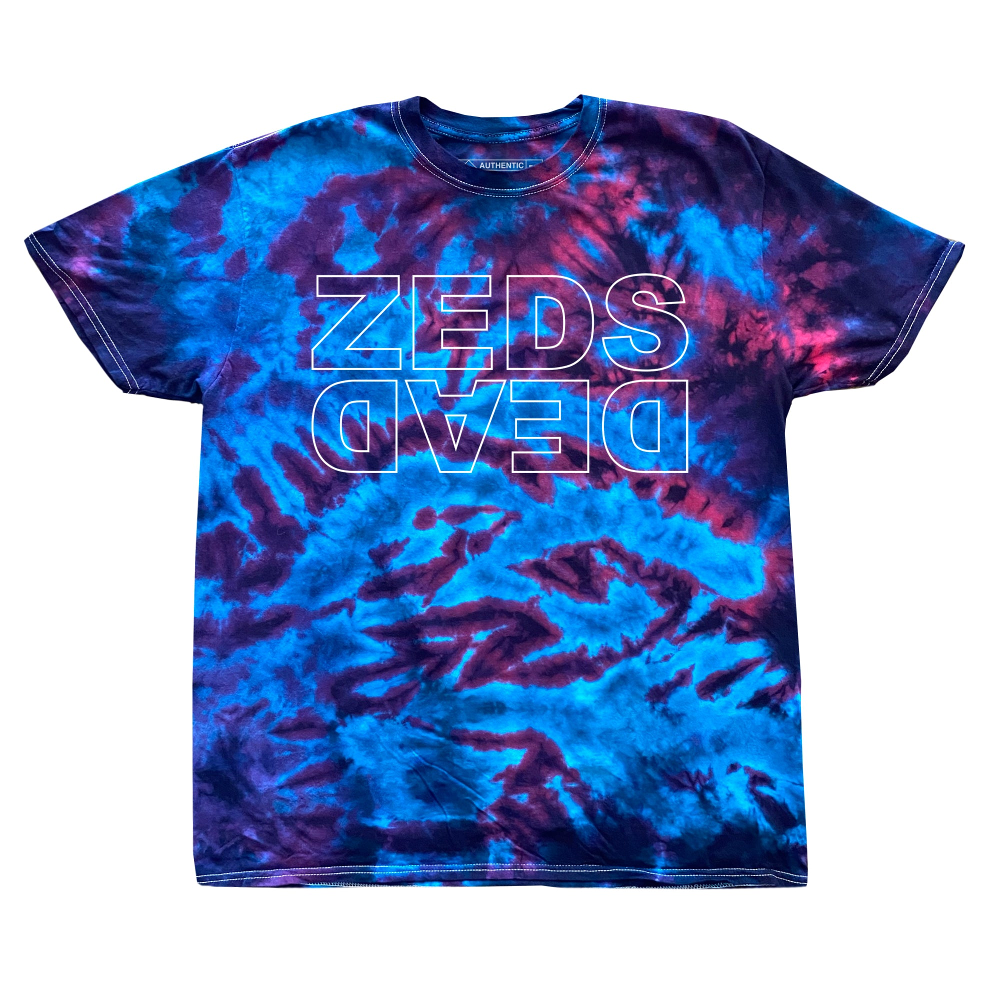 PRE ORDER - LTD ED. Zeds Dead - Level Up V2 - Tie Dye Tee