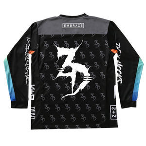ZD - 2020 Paintball / Moto Jersey - Limited Edition Black / Gradient
