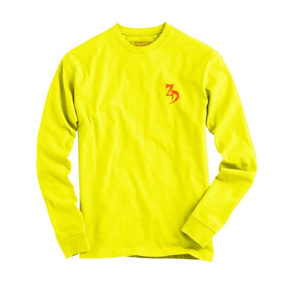 Zeds Dead - Save My Grave - Neon Yellow Long Sleeve