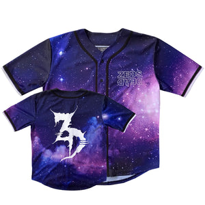 PRE ORDER - Zeds Dead - Big League V3 - Limited Edition Intergalactic Baseball Jersey