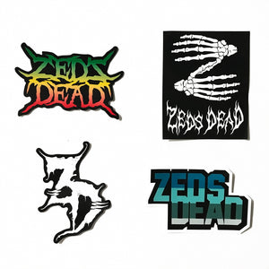 ZD - Vinyl Sticker Pack (4-Pack)
