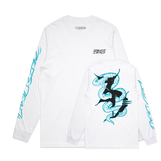 Zeds Dead - Seeing Snakes - White Long Sleeve
