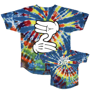 ZD - Z Hands - Tie Dye Long Tee