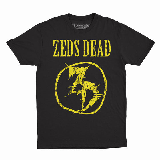 ZD - Unplugged - Black Tee