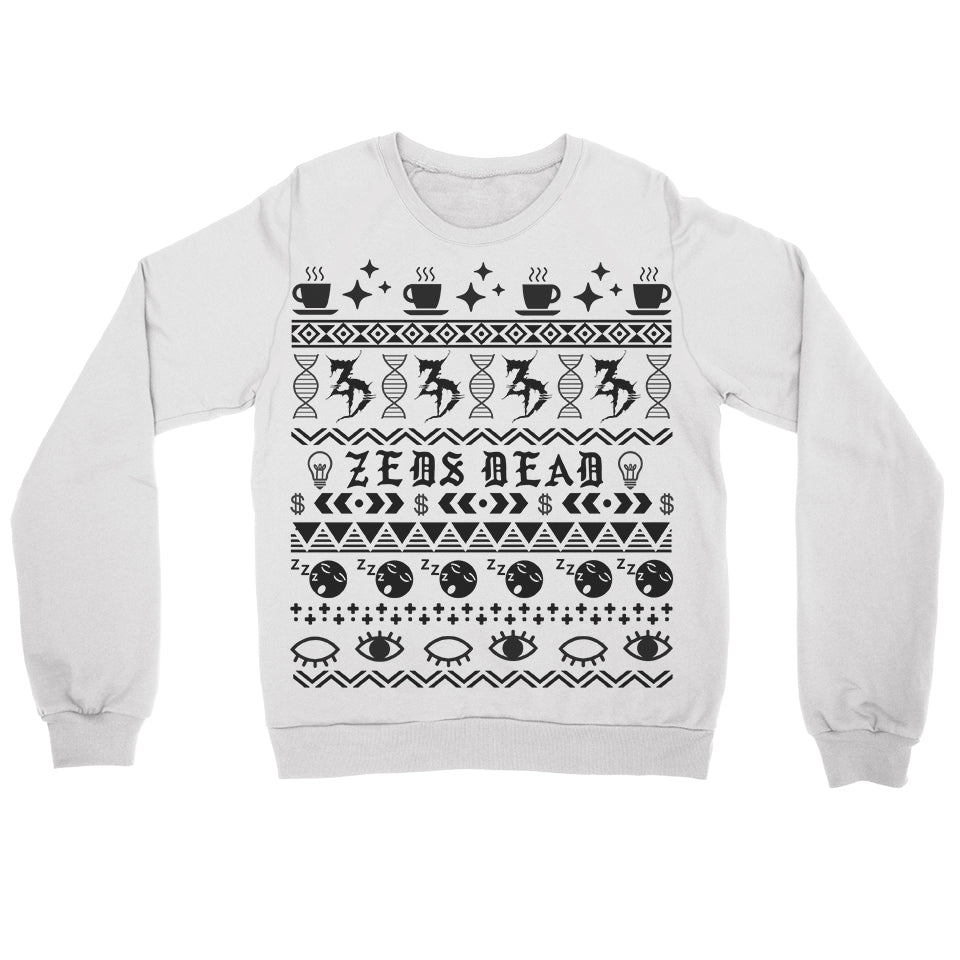 ZD -2018 Holiday Jumper- White