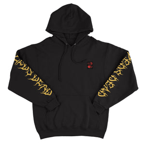 ZD - Wicked - Black Pullover Hoodie