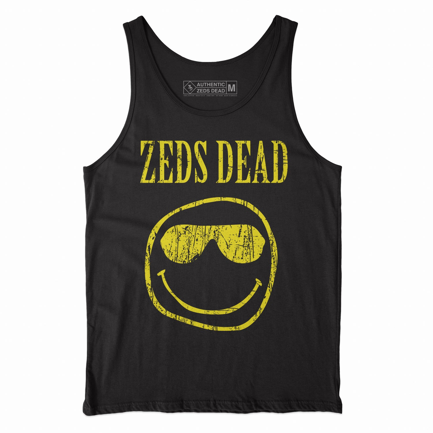 ZD - Zedvana - Black Tank Top