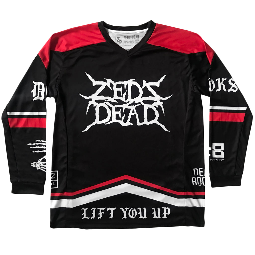 PRE ORDER - ZD - 2019 Paintball / Moto Jersey - Limited Edition Red / Black