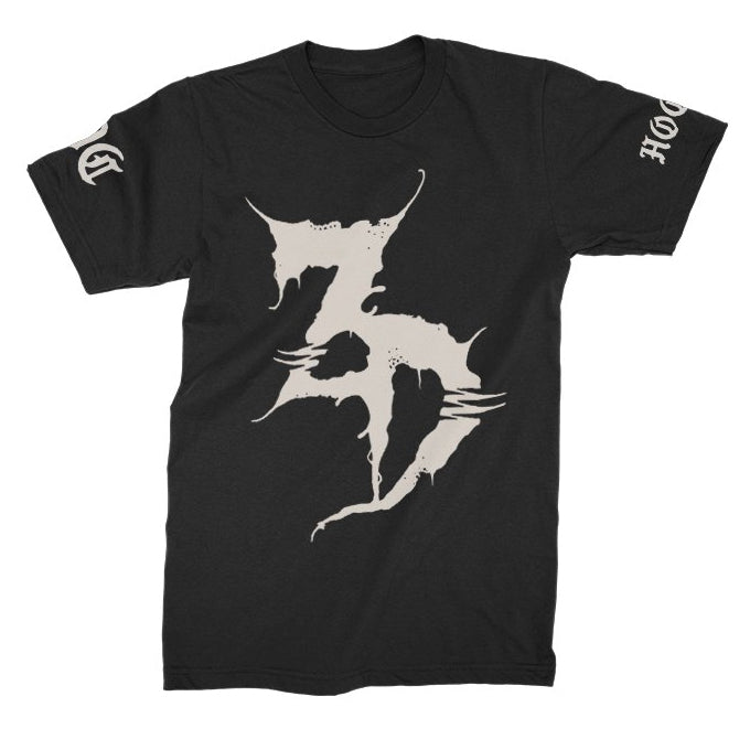 ZD - Me No Care Black Tee