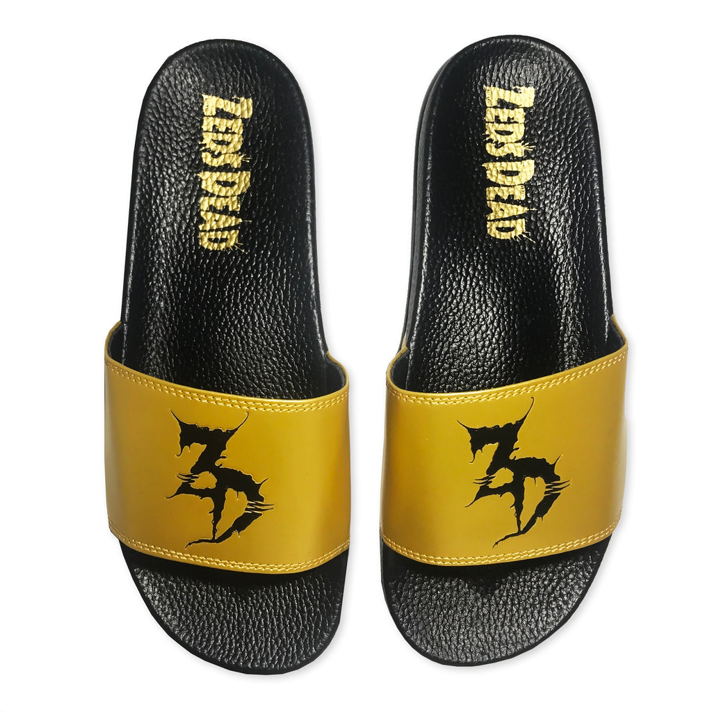 ZD - Logo - Black / Gold Slides