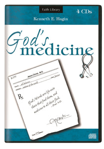 Audio CD-God's Medicine (4 CD)