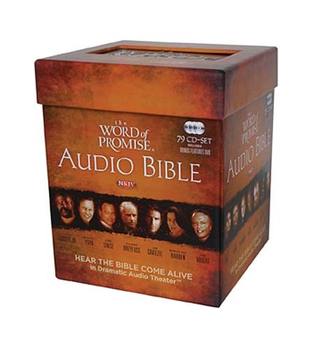 Audio CD-NKJV Word Of Promise Audio Bible-Drama (79 CD)