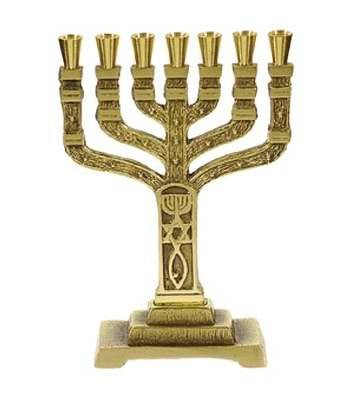 Menorah-12 Tribes-Roots (7 Branched) (6.5