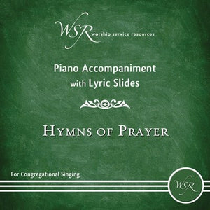 Audio CD-Hymns Of Prayer-Piano Accompaniment With Lyric Slides DVD