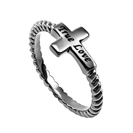 Ring-Simplicity Cross-True Love-Sz  8