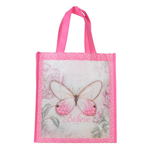 Totebag-Non-Woven-Butterfly Blessings/Believe
