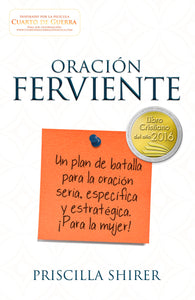 Spanish- Fervent Prayer (Oracion Ferviente) (War Room)