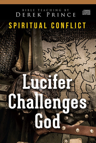 Audio Cd-Lucifer Challenges God (Spiritual Conflict Series) (6 CD)