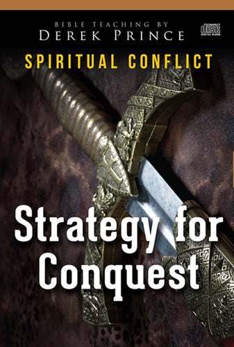 Audio CD-Strategy For Conquest (Spiritual Conflict Series) (4 CD)