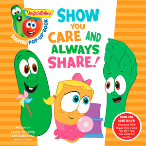 VeggieTales: Show You Care And Always Share: A Digital Pop-Up Book