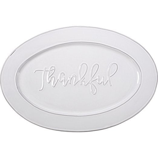 Serving Platter-Thankful (17.75