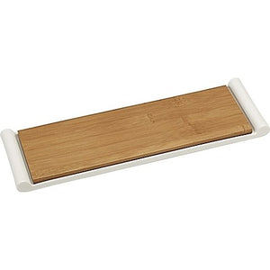 "Serving Tray w/Bamboo Cutting Board (2 Piece) (14"" x 4.5"")"