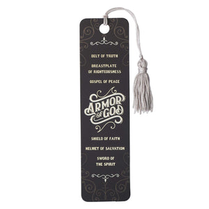 Bookmark-Armor Of God w/Tassel (Pack Of 6)