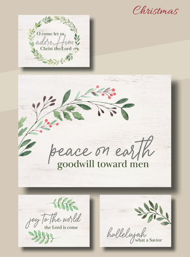 Card-Boxed-Christmas-God's Praise w/Scripture (Box Of 12)