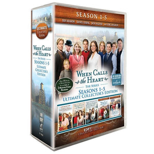 DVD-When Calls the Heart: SPECIAL PRICE: Ultimate Collector's Edition-Seasons 1-5 (19 DVD)