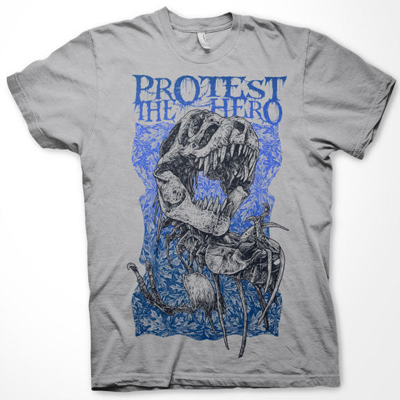 PROTEST THE HERO T-Wrecks Silver T-Shirt